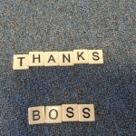 Thanks Boss